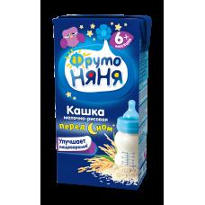 Кашка молочно–рисовая