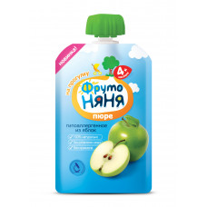 Пюре яблочное натуральное